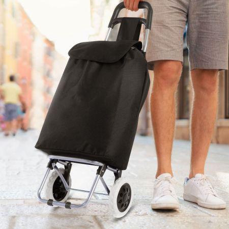 Einkaufstrolley Einkaufstasche Einkaufsroller Klappbar Einkaufswagen 35Liter