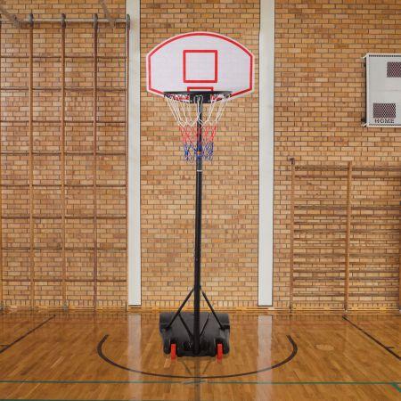 Basketballständer mobiler Basketballkorb mit Ständer Höhenverstellbar