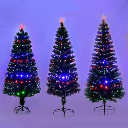 Weihnachtsbaum Künstlicher Tannenbaum Christbaum beleuchtet