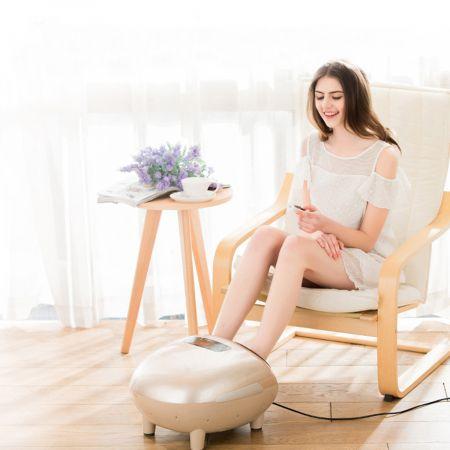 Fußmassage Elektrische Shiatsu Fußmassagegerät inkl. 5 Massagetypen 45 x 37 x 30 cm