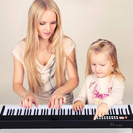 Costway 88-tasten Digitales Piano Keyboard elektronisches Klavier Keyboard Tragetasche