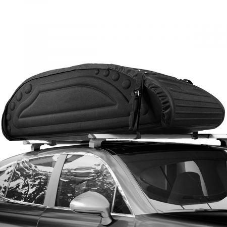 Costway 425L Auto Dachbox Dachkoffer mit Transportbändern Dachtasche Gepäckbox Dachgepäckträger Tasche