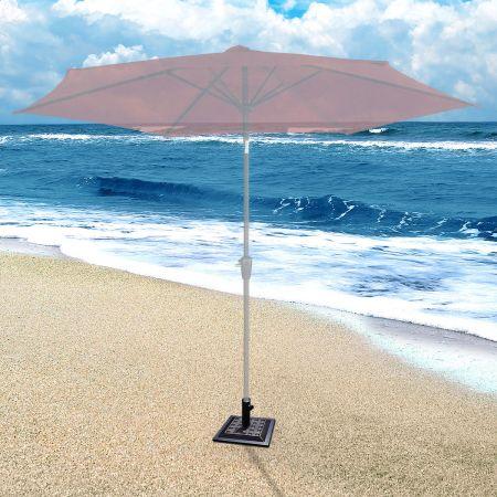 Sonnenschirmständer Marktschirmständer Sonnenschirmfuß Balkonschirmständer eckig