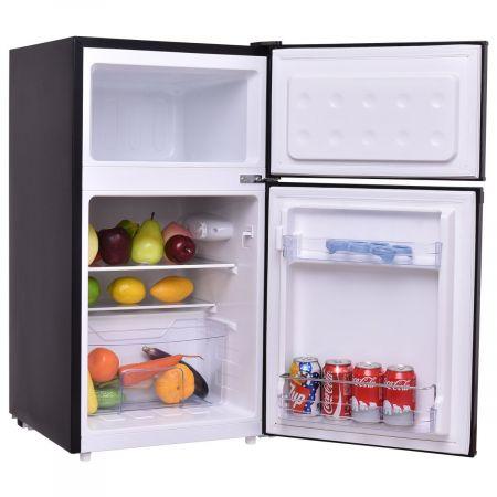 Kühlschrank mit Gefrierfach Gefrierschrank Kühl Gefrierkombination 85L