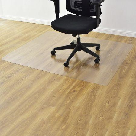 Bodenschutzmatte Bodenschutz Büro Stuhl Unterlage Schutz Matte PVC 2 (120x150cm)