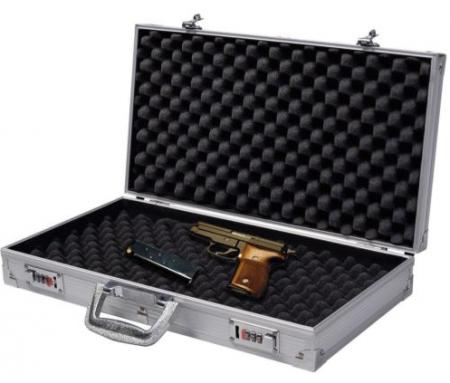 Waffenkoffer Gewehrkoffer Pistolenkoffer Alukoffer Waffen Koffer 47x25 cm