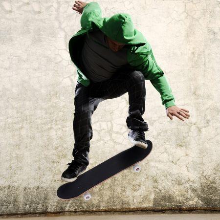 Skateboard Komplettboard Funboard Minicruiser Holzboard Longboard 20x79cm