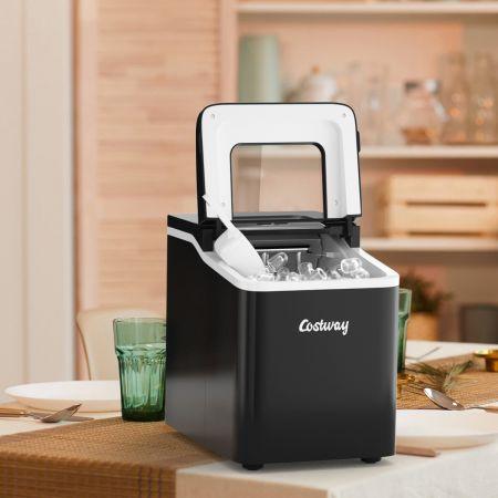 Costway Eiswürfelmaschine Eiswürfelbereiter Icemaker Eismaschine Ice Maker Machine Farbwahl