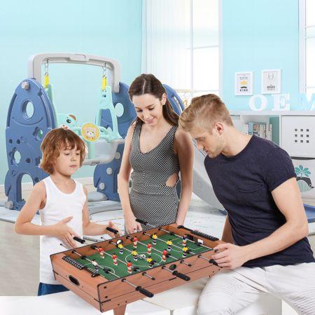4 in 1 Multifunktionsspieltisch Multispieltisch Multigame Tischfußball Billard Tischtennis Hockey