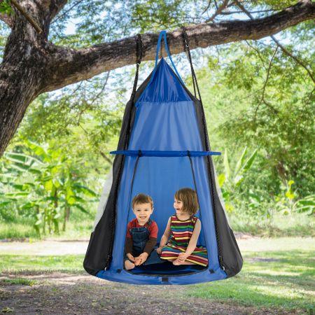 Nestschaukel Kinderschaukel-Set Max. Tragkraft 150 kg 100 cm Durchmesser