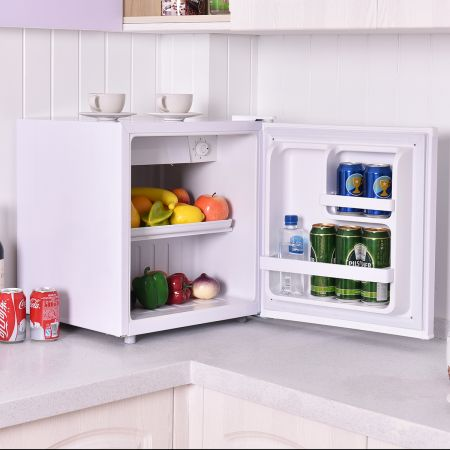 Mini Kühlschrank mit Gefrierfach Kühl-Gefrier-Kombination A+ 48L
