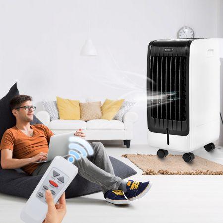 Costway 3 in1 Mobile Klimaanlage 75W Luftkühler Klimagerät Ventilator Luftreiniger