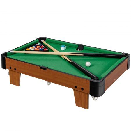 Costway Billardtisch Tragbarer Mini-Pooltisch Spieletisch Billard Spiel Set