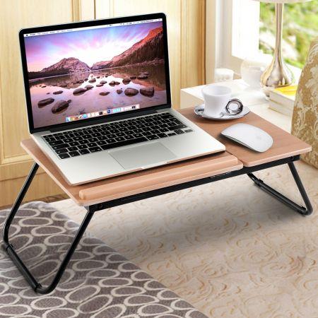 55 x 32 x 23 cm Faltbares Laptoptisch Betttisch Notebooktisch