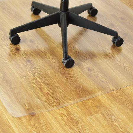 Bodenschutzmatte Bodenschutz Büro Stuhl Unterlage Boden Schutz Matte PVC 120x120cm
