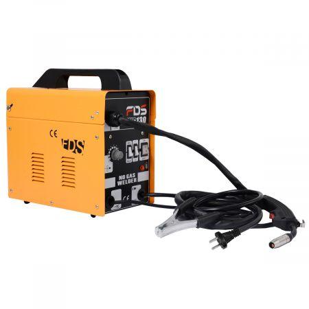 Ampere Schweißgerät Schweißmaschine FLUX Schutzgas MIG 130 Elektrodenschweißgerät