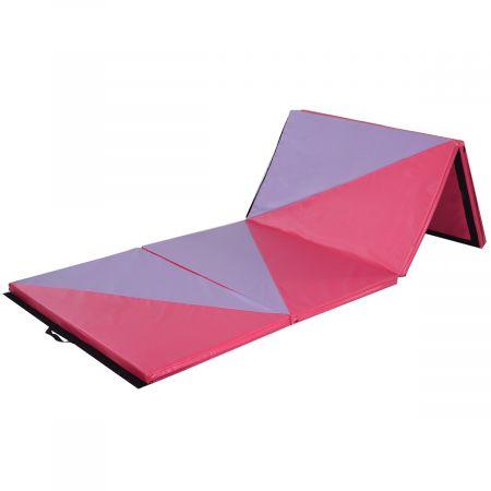 Weichbodenmatte Gymnastikmatte Yoga Turnmatte Klappmatte 4 x Klappbar Fitness 300x120x5cm