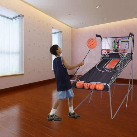 Doppelspiel Basketball Automat Basketballkorb Basketballständer Basketballspiel