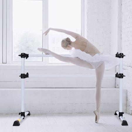 Ballet-Bar Ballettstange Ballett/Stretch Barre Höhenverstellbar Mobil 123 x 71 x 119CM