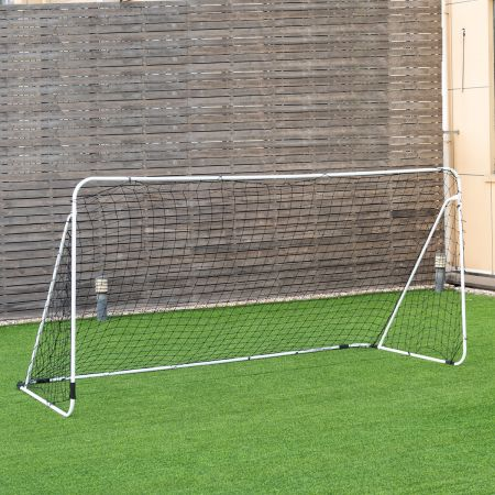 Fußballtor aus Stahl für Spiele und Training von Kindern und Teenagern ab 6 Jahren 365 x 153 x 183 cm