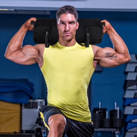 Costway Power Bag Core Bag Sandbag Trainingssandsack zum Gewichtheben Training