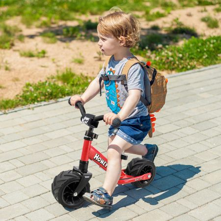 Kinderlaufrad Kinder Fahrrad Lauflernrad Rot 66 x 38 x 55 cm